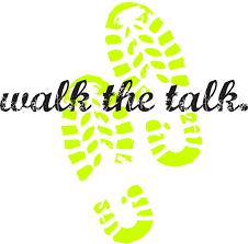 Talk v Walk